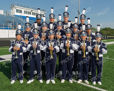 WGHS Marching Band Trumpets