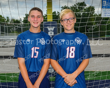 Boys Soccer JV Captains