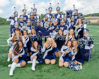 Marching Band Seniors Fun