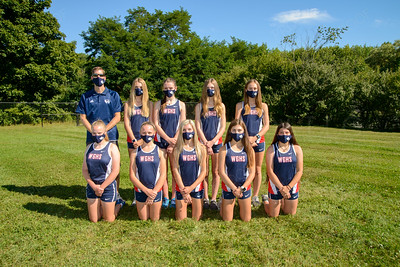 Girls XC team masks