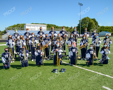 Trombones and Saxophones Masks