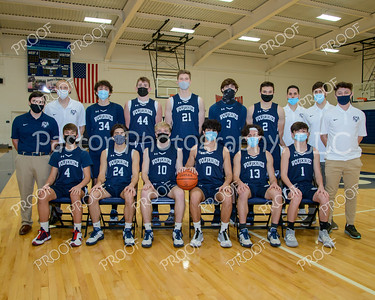 Boys Basketball Varsity Masks