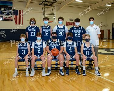 Boys Basketball 9th Masks