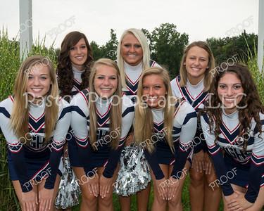 Cheerleaders - Seniors