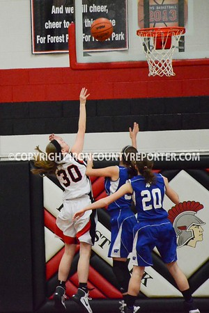 West Iron vs Forest Park Girls BB