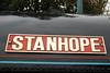 Kerr Stuart steam loco Stanhope nameplate