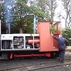 33 sec video of the mines loco ticking over