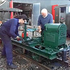 24 Sec video Attempt # 1 of trying to hand crank the Lister R Type into Life: Other wise known as The West Lancs Light Railway come and have a go if you think your Hard Enough Challange