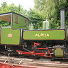"Alpha <br /> <br /> Built by: <br /> <br /> Hudswell Clark <br /> <br /> Year of Construction: <br /> <br /> 1922 <br /> <br /> Wrks no 1172 <br /> <br /> History of this loco below <br /> <br /> Originally built for a customer in Africa but the sale was cancelled. 9 <br /> <br /> years later the light railway supplier Robert Hudson sold it to Begg, <br /> <br /> Sutherland & Co for one of their sugar mills in India. Returned from <br /> <br /> Ryam Sugar Mill in 2013. Has been restored and now operational.<br /> <br /> Loco normally lives at the Statfold Barn Railway link below <br /> <br /> <a href=""http://www.statfoldbarnrailway.co.uk/"">http://www.statfoldbarnrailway.co.uk/</a>"