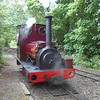 45 Sec Video of Steam Loco Irish Mail running round it's train at Delph the lines end