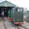 9th Oct shunting Locos out of Carriage shed