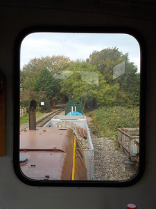 Now sat in the headshunt this pic is taken from the driver's side window   view
