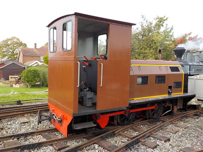 a couple of pics of the mines loco in the headshunt