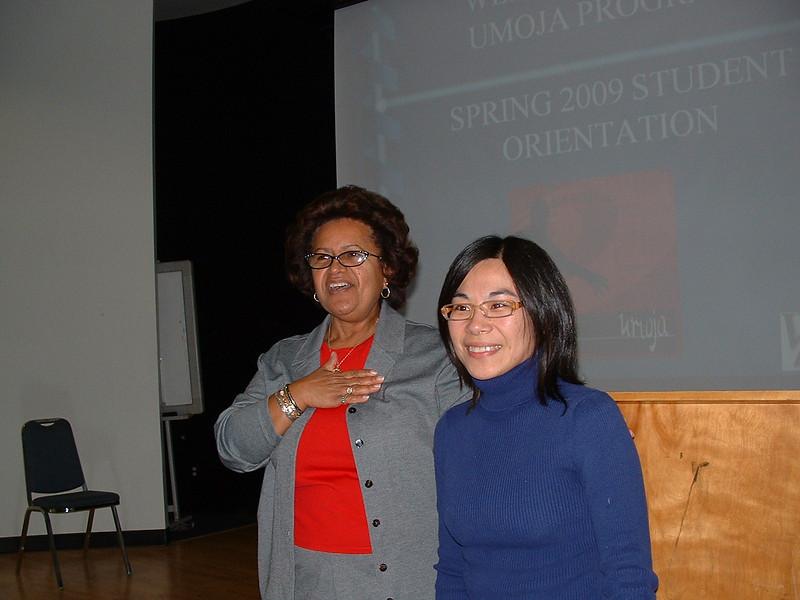 Beth Evans Presents Math Instructor Li Lei