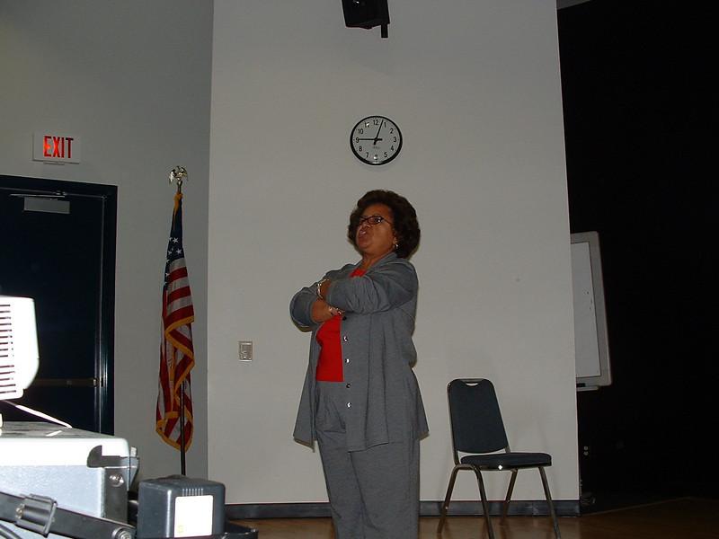 Prof. Beth Evans, one of the masterminds behind Umoja.