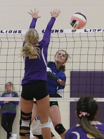 West Lyon at Central Lyon 10-24-16 for CLASS 2A REGION 1 VOLLEYBALL