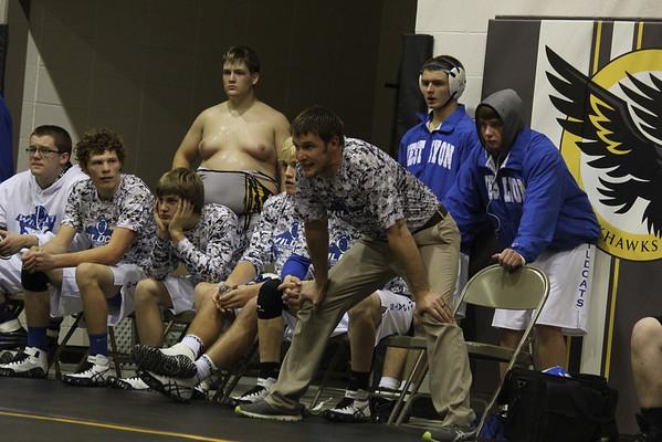 West Lyon at Hinton wrestling tournament