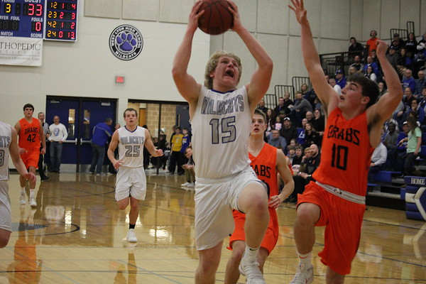 West Lyon girls' and boys' basketball 1-5-18