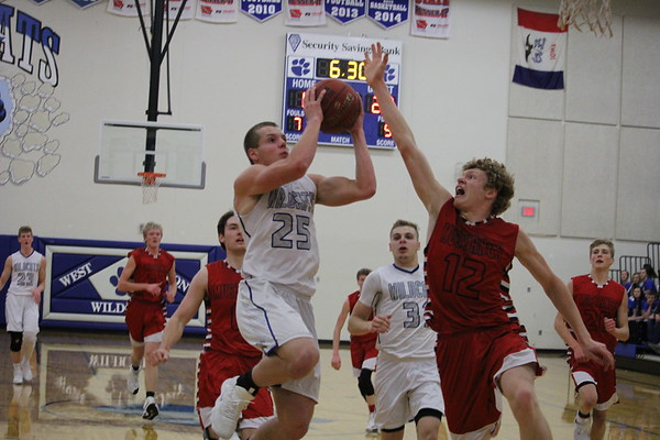 West Lyon girls' and boys' basketball 12-8-17