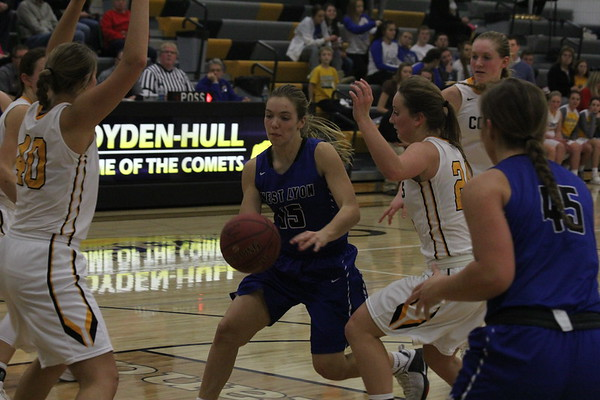 West Lyon girls' and boys' basketball at Boyden-Hull 12-19-17