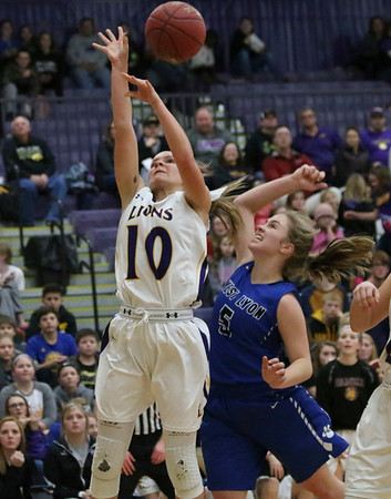 West Lyon girls' and boys' basketball at Central Lyon 12-12-17