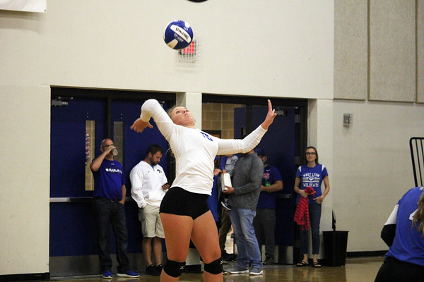 West Lyon volleyball versus Sheldon 9-20-18