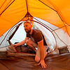"""Conrad Andrews puts up a tent for the weekend as he and his girlfriend Ashley Aldhizer settle into their campsite at West Magnolia Campground, south of Nederland, on Friday afternoon. <br /> For more photos go to  <a href=""""http://www.dailycamera.com"""">http://www.dailycamera.com</a><br /> (Autumn Parry/Staff Photographer)<br /> June 24, 2016"""
