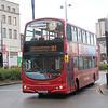 West Midlands Travel 4638 Moor Street Queensway Birmingham Sep 17