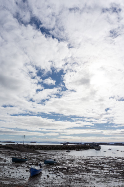 Low tide, Iqaluit, Nunavut