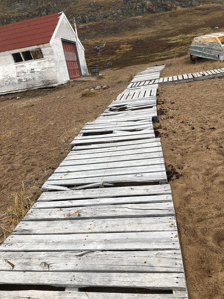 Hudson Bay buildings, Apex, Iqaluit, Nunavut