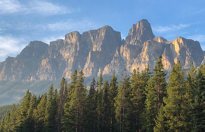Castle Mountain, Banff National Park, Alberta, Canada