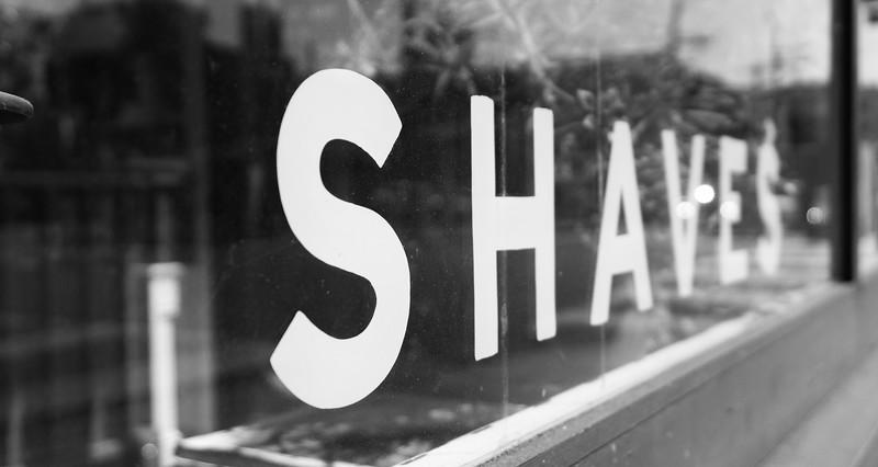 Barber shop, Mission, San Francisco, USA