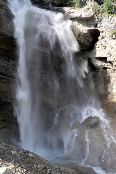 Bridal Veil Falls, Jasper National Park, Alberta, Canada