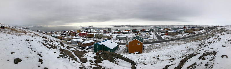 After an early snow fall, Iqaluit, Nunavut