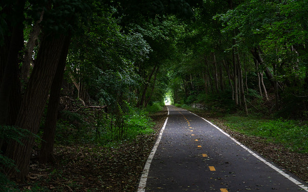 Bike Path, Barrington, Rhode Island, US