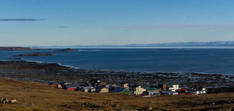 Looking out towards the bay, Iqaluit, Nunavut
