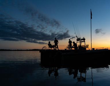 A Tragically Hip song, Howe Island, Lake Ontario, Canada