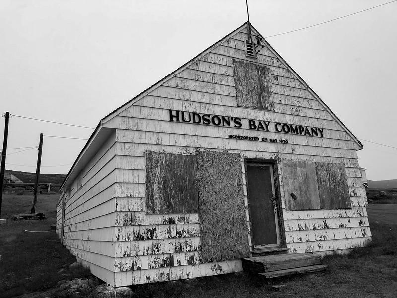 Hudson's Bay company buildings, Apex, Iqaluit, Nunavut