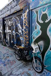 Street Art, Mission, San Francisco, USA