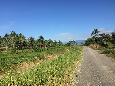The area near the Maleo spot - and a long drive back to Manado