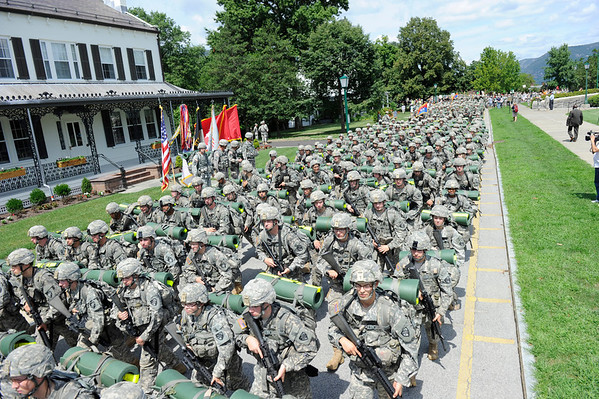 USMA Class of 2016 March Back 120813