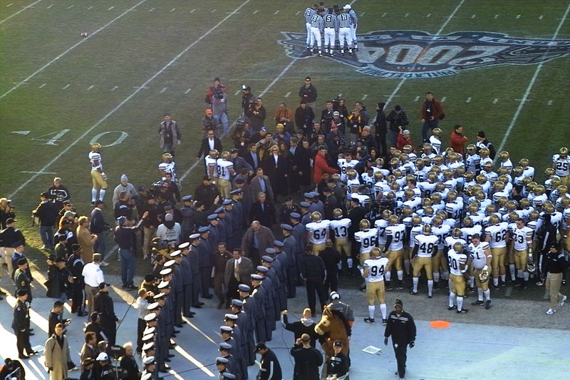 Army/Navy 2004 Highlights: President Bush to the Army Side