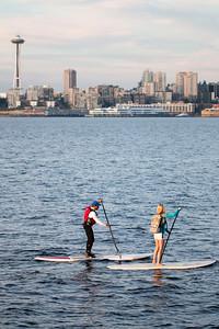 Views from Alki/West Seattle.