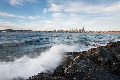 Seattle Skyline seen from West Seattle.
