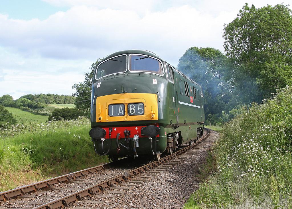 D832, 08.50 Williton-Bishops Lydeard, Nethercott, near Crowcombe Heathfield, 17-6-12.