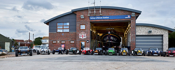 West Sussex Lotus 7 Club visit to Selsey RNLI Lifeboat Station