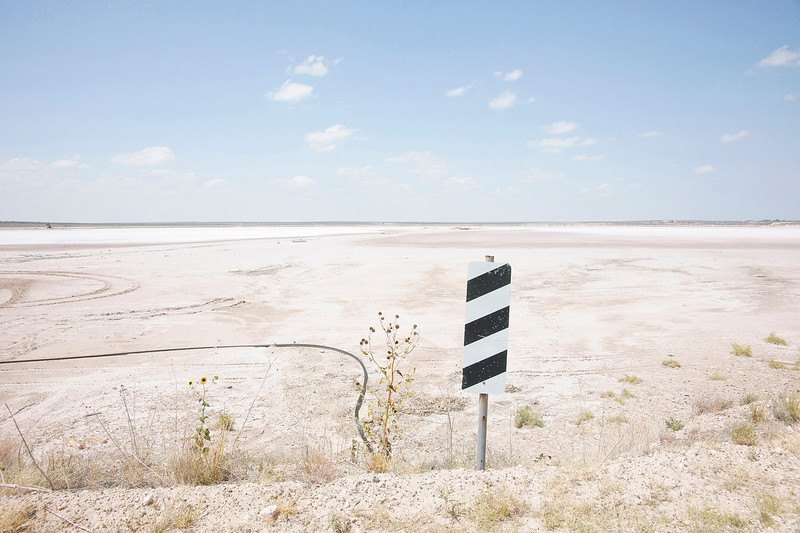 Edge of the Dry Lake, West Texas