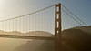 Golden Gate Bridge, late afternoon. San Fransisco, California.