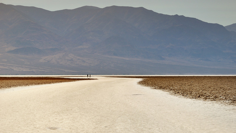Badwater Basin. Death Valley, California.