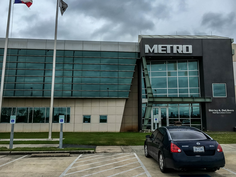 Houston Metro's Shirley A DiLibero Rail Ops Center Buiding.